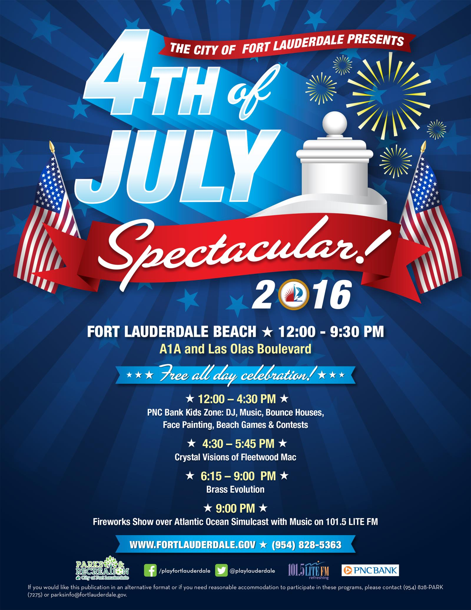 4th of july spectacular on fort lauderdale beach south florida finds