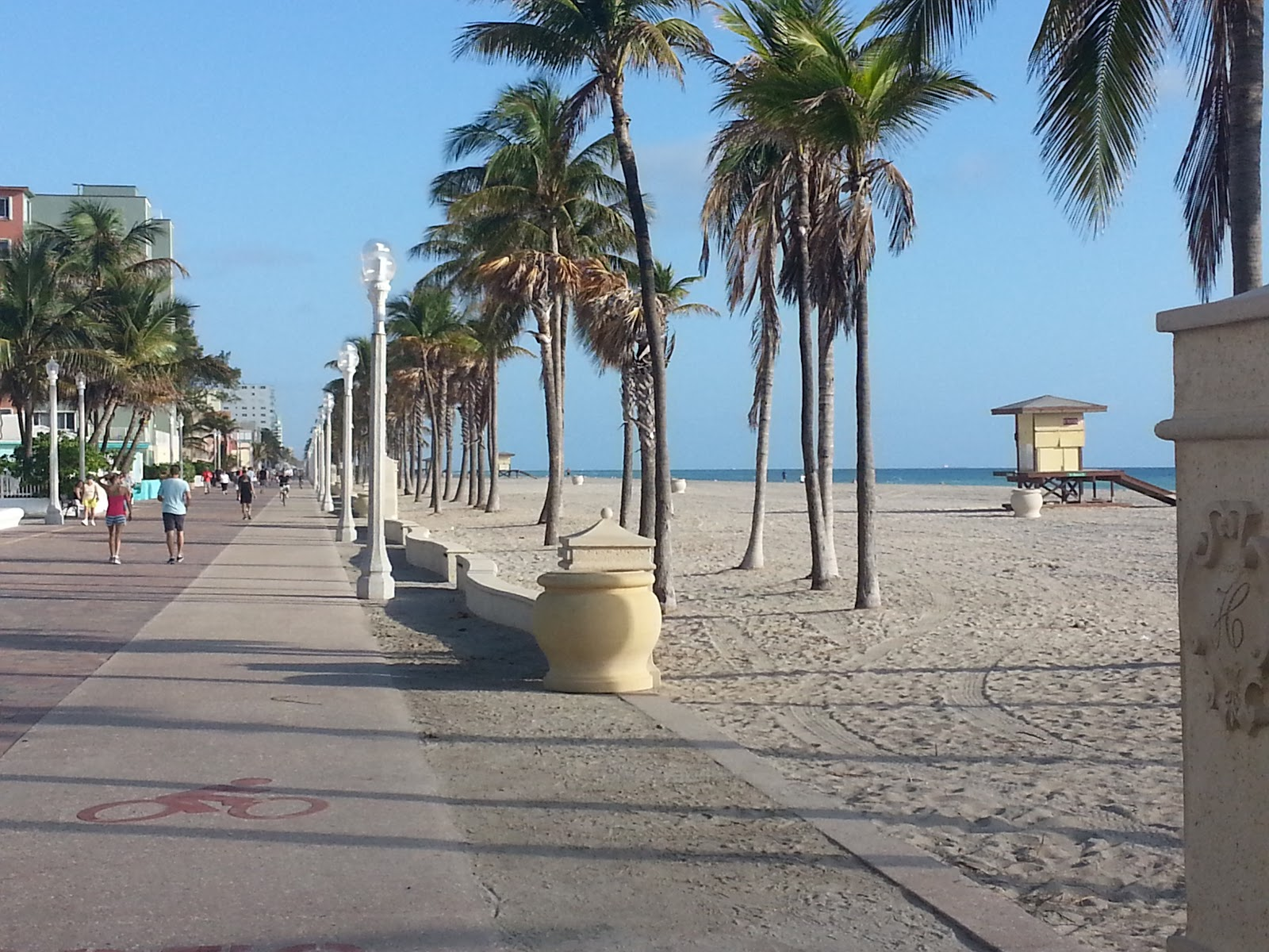1 Hollywood Beach Bike Trail Broward County Level Easy